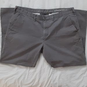 Eddie Bauer Legend Wash Grey Pants 42x32